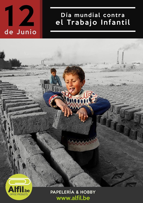 12  de junio. Día mundial contra el trabajo infantil.